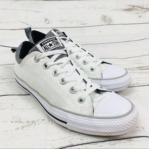 Converse All Star White Low Top Canvas Sneakers